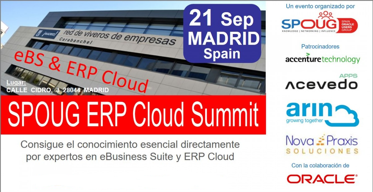 SPOUG ERP Cloud Summit