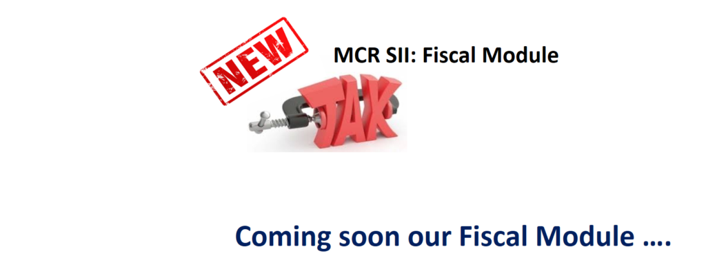 Fiscal module comming soon